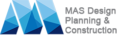 MAS Design, Planning and Construction, Inc. Logo